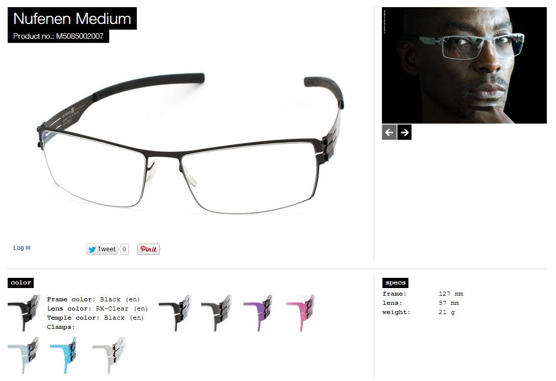 Nufenen Medium black