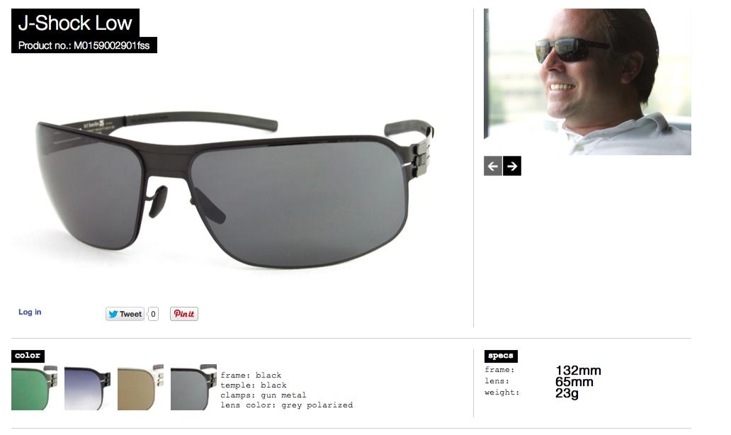 j shock low black len grey polarized