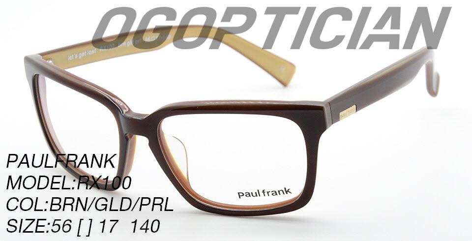 PAULFRANK RX100-BRN-GLK-PRL