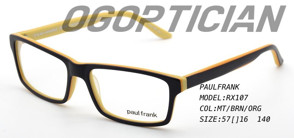 PAULFRANK RX107-BRN-ORG