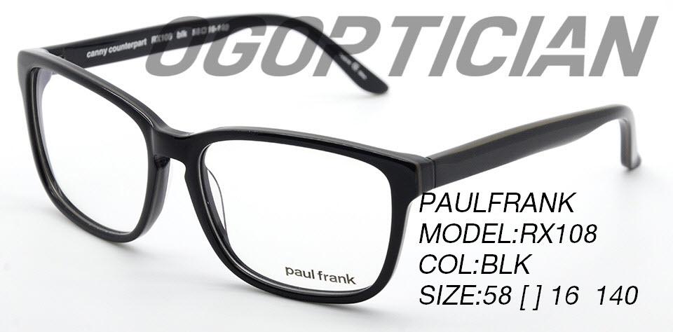 PAULFRANK RX108-BLK