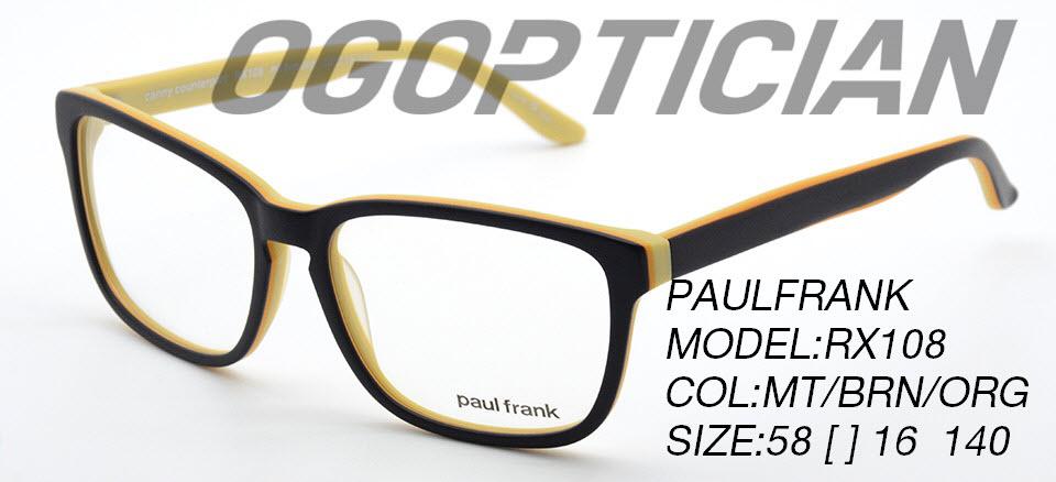 PAULFRANK RX108-MT-BRN-ORG