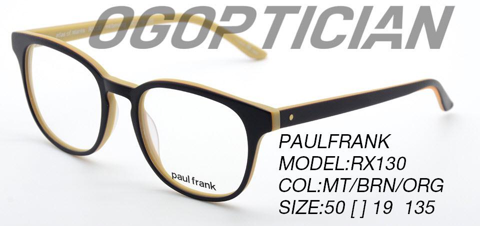 PAULFRANK RX130-MT-BRN-ORG