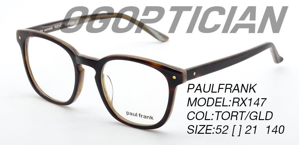 PAULFRANK RX147-TORT-GLD