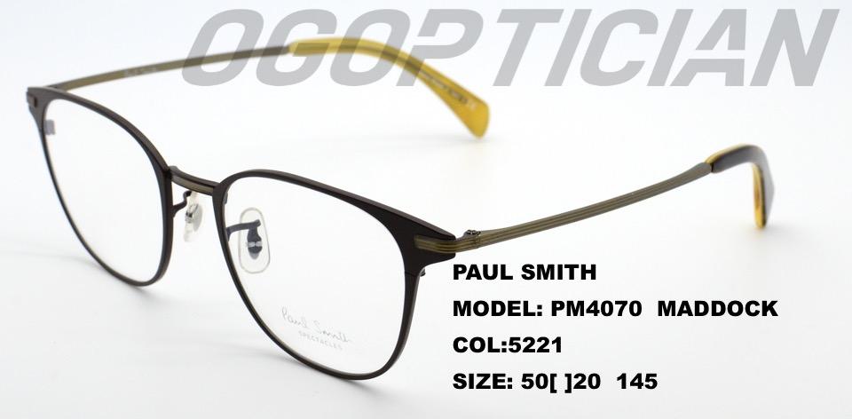 PAULSMITH-PM4070-MADDOCK-COL5221